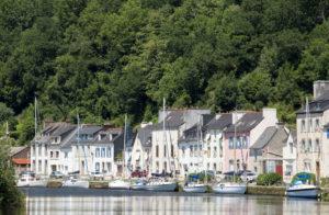 Nantes-Brest Canal, Chautelin France, France