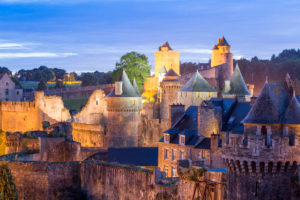 Chateau of Fougeres, Brittany France, France