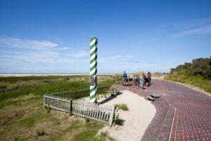 Northwestmost point of Germany, Borkum, East Frisian Islands