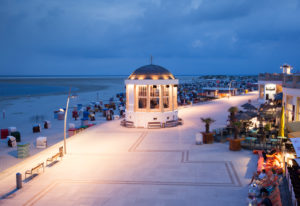 Bandstand, Promenade, Borkum, East Frisian Islands