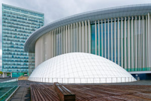 Luxembourg, Grande-Duchesse Joséphine-Charlotte Concert Hall by Christian de Portzamparc, Luxembourg City