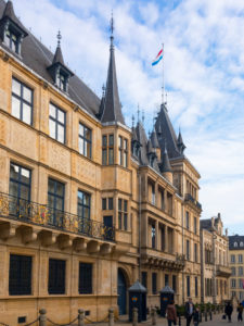 Luxembourg, Palais Grand-Ducal, Ducal Palace, Luxembourg City, Luxembourg