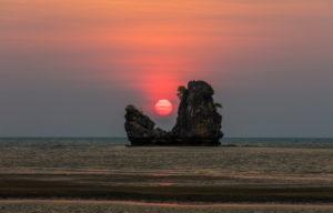 Tanjung Rhu Beach, beach, Malaysia, Kedah, Langkawi, sundown