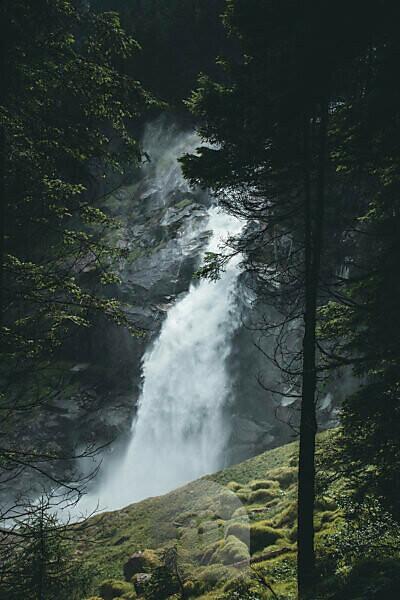 Austria, Hohe Tauern, Krimml, Krimml waterfalls
