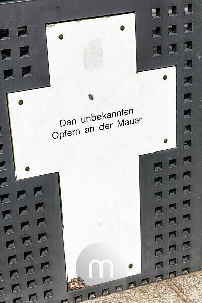 Spreeufer, Gedenkkreuze, Gedenkstätte, Spreebogenpark, Regierungsviertel, Berlin, Deutschland