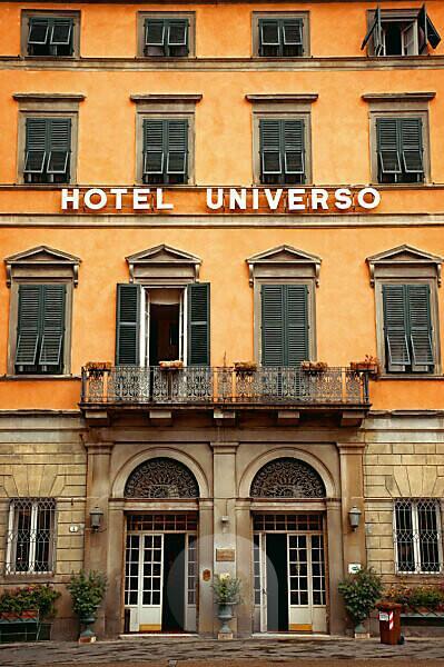 House, hotel, Lucca, Tuscany, Italy