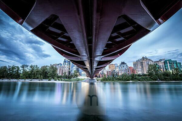 Canada, Alberta, Calgary, Peace Bridge