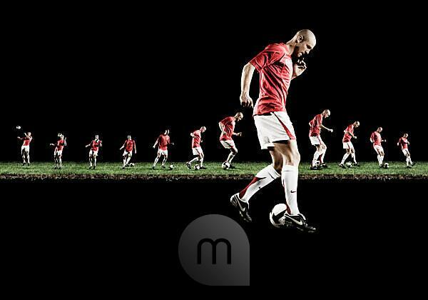 Philippe Senderos, portrait, soccer player,