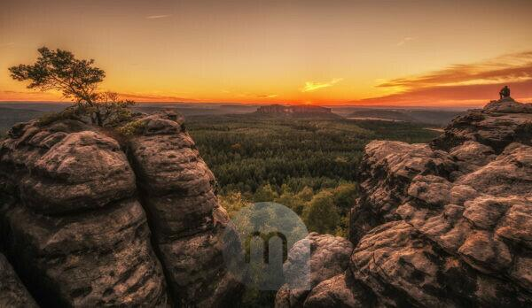 Germany, Saxony, Saxon Switzerland