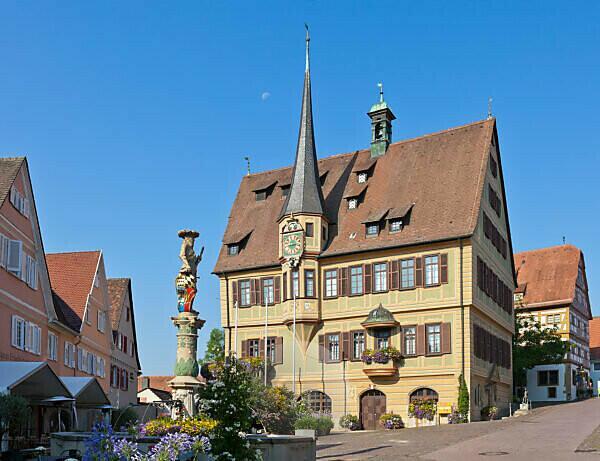 Deutschland, Baden-Württemberg, Bietigheim-Bissingen, Rathaus