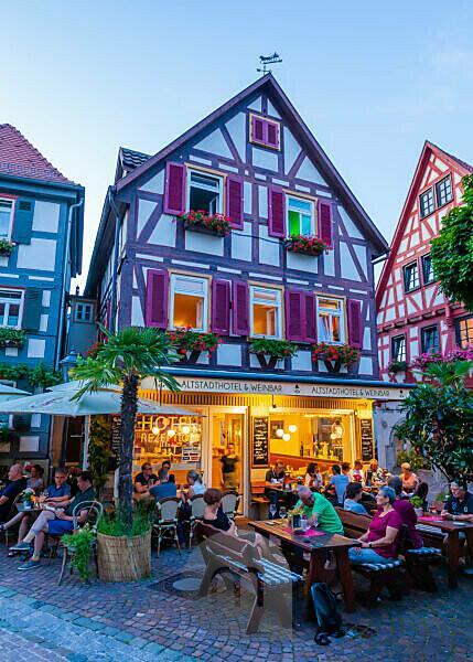 Deutschland, Baden-Württemberg, Besigheim, Gastronomie