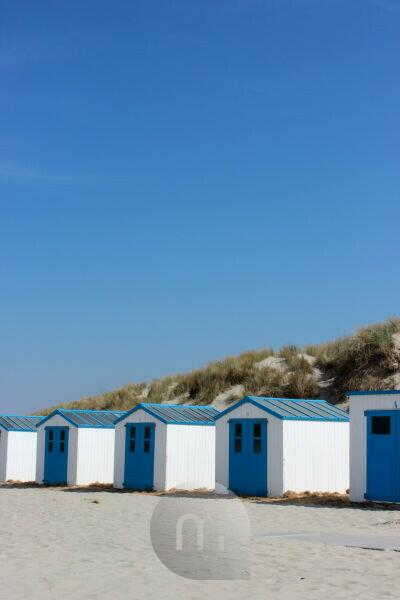Netherlands, Texel, beach houses