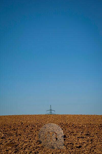 Strom, Strommast, Auf dem Land, Energiewende, Nachhaltigkeit