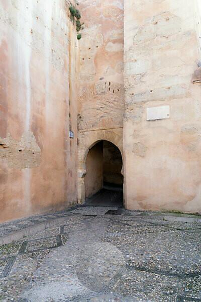 Granada (Spain), Albaicin district, Puerta Nueva