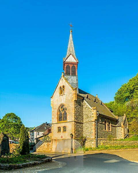 Kirche in Argenschwang, Rheinland-Pfalz, Deutschland