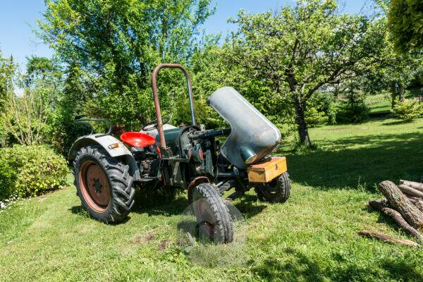 Michelstadt, Hessen, Germany., Tractor, Eicher Model EM 200 Tiger, year of construction 1962, 28 HP, displacement 1998 cc.