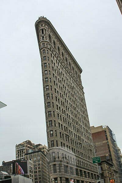 Flatiron Building Manhattan New York Frontansicht
