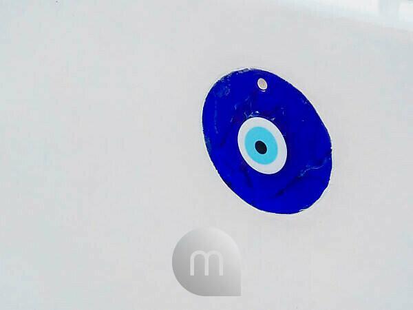 Nazar Auge auf Santorin