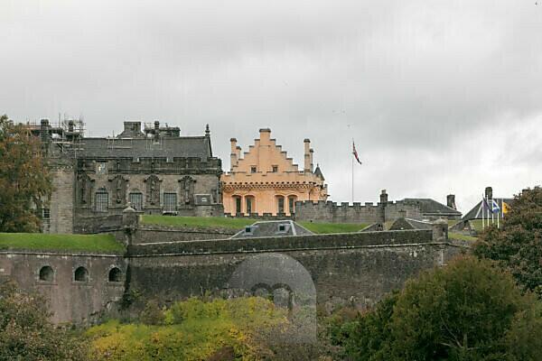 Stirling Castle Schloss in Schottland