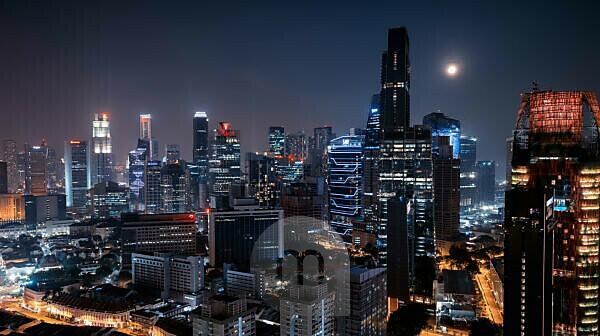Singapur, City