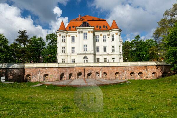 Europe, Poland, Lower Silesia, Lesnica Castle / Zamek w Lesnicy / Schloss Lissa