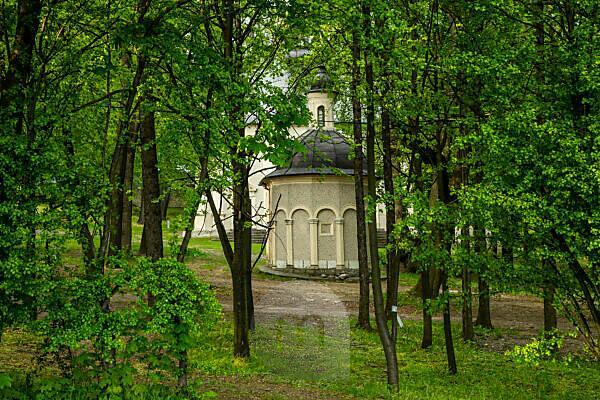 Europe, Poland, Gora Swietej Anny / St. Anna-Berg / St. Anne Mountain