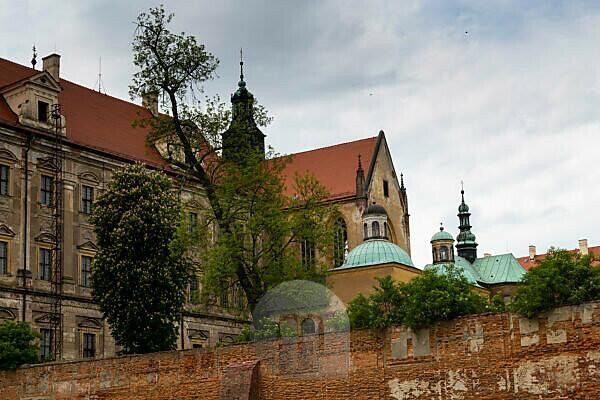 Europe, Poland, Lower Silesia, Lubiaz Abbey / Kloster Leubus