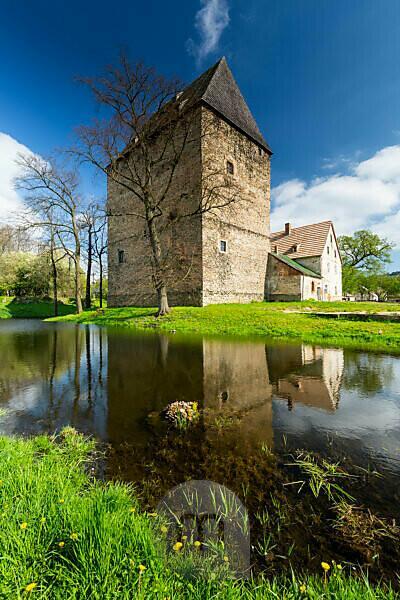Europe, Poland, Lower Silesia, Siedlecin Tower