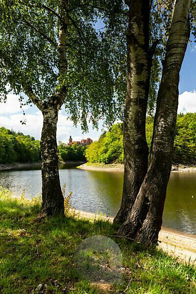 Europe, Poland, Lower Silesia, Czocha castle / Tzschocha