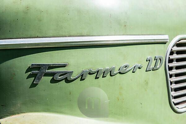 Michelstadt, Hessen, Fendt Dieselross Farmer 2D, type FW 228, year of construction 1963, 28 HP, 1990 ccm.