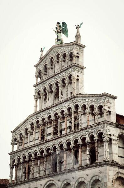 San Michele in Foro, Lucca, Tuscany, Italy