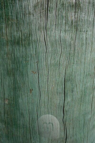 türkiser Holzfond, Bootssteg im Hafen von Akaroa