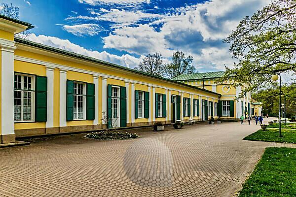 Czech Republic, Bohemia, Františkovy Lázně