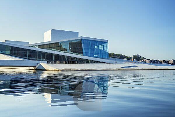 Neues Opernhaus der Norwegischen Oper in Oslo, Norwegen, Skandinavien, Nordeuropa, Europa