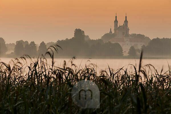 Europe, Poland, Podlaskie, Suwalskie Region, Wigry lake