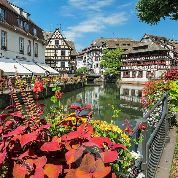 Maison des Tanneurs, Gerberviertel La Petite France, UNESCO Weltkulturerbe, Straßburg, Elsass, Frankreich