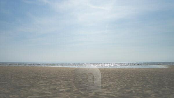 The sand and the sea - ebb and water - light and shadow - wave patterns