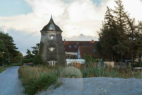 Mill in Vitte, Mecklenburg-Western Pomerania, Germany