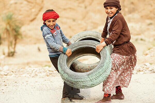 Children, Morocco