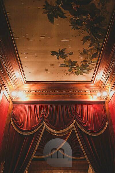 Foyer im Teatro Massimo in Palermo, Teatro Massimo, Theater, Piazza Verdi, Palermo, Sizilien, Hauptstadt, Großstadt, Italien