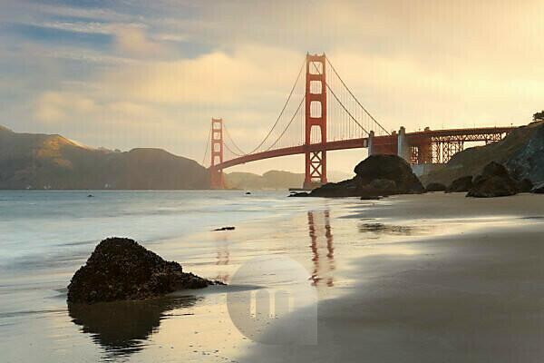 The USA, America, Golden Gate Bridge, San Francisco, California,