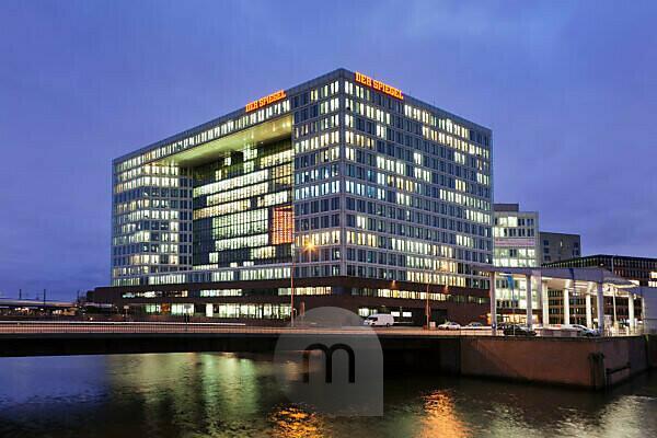 Spiegel-Gebäude Ericusspitze, Hamburg, Germany