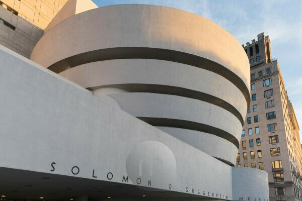 Solomon R. Guggenheim museum, 5Th avenue, Manhattan, New York city, the USA