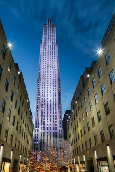 Rockefeller centre, Manhattan, New York city, New York, the USA