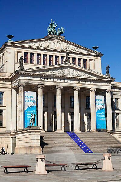Konzerthaus am Gendarmenmarkt, Mitte, Berlin, Deutschland
