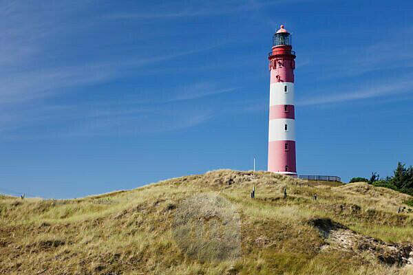 Lighthouse, Amrum, North Frisia, Schleswig Holstein, Germany