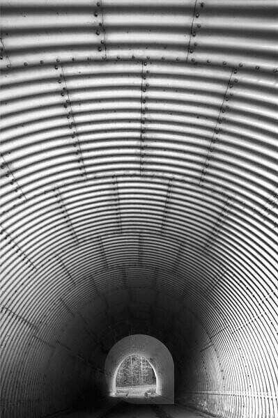Autobahntunnel von Innen