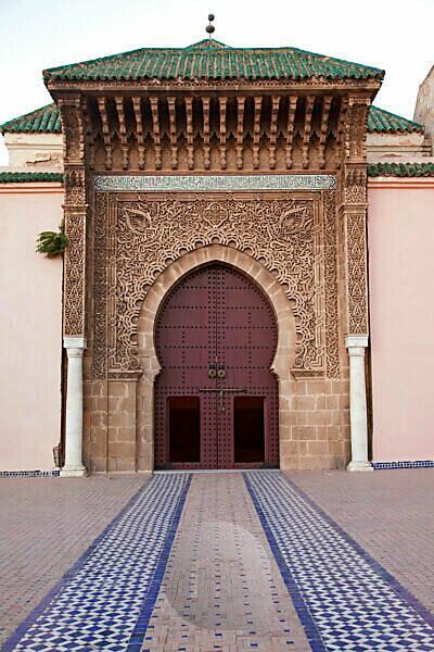 Meknes, Mausoleum, Eingang, Marokko
