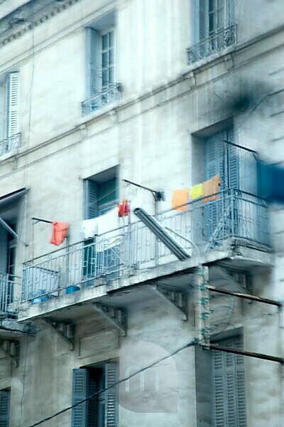Casablanca, Haus, Balkon, Marokko