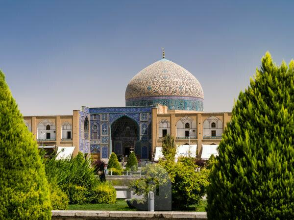 Sheikh Lotfollah Moschee in Isfahan